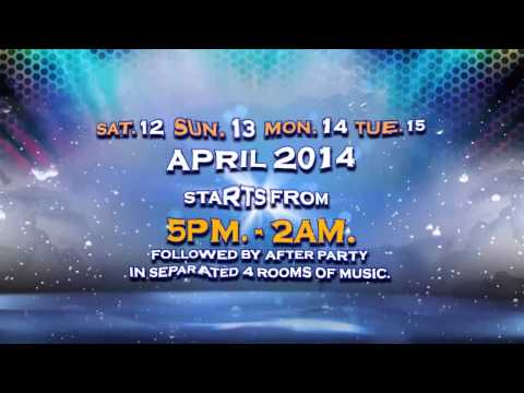 Teaser NARZ – SONGKRAN FOAM PARTY 2014 [12-15April2014]