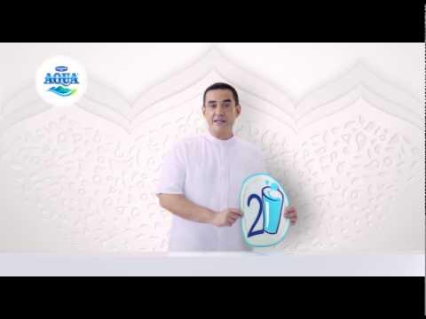Minum Aqua 242 Aqua Ramadhan 242 30 Sec