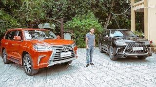 Sự khác biệt của Lexus LX570 thường và Super Sport |XEHAY.VN|
