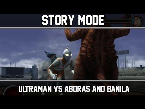 Ultraman PS2 (Story Mode) Original Ultraman VS Aboras and Banila ►Play ウルトラマン