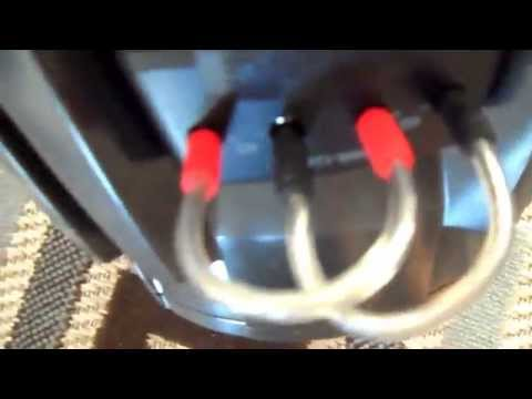 How To Wire a dual 4 ohm sub woofer to 1 ohm