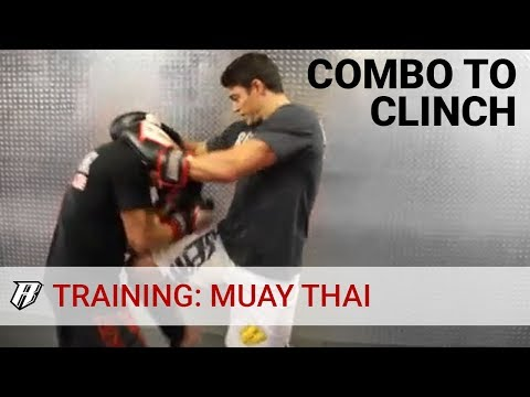 Muay Thai Technique of the Week - Combo to Clinch | MMA Training Revgear Image 1