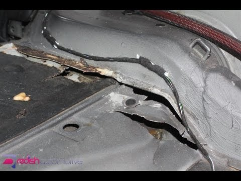 Massive E46 M3 Subframe Floor Crack Damage Amp Repair Part