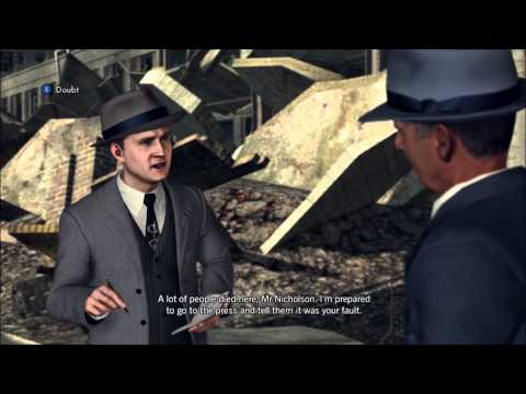LA Noire Walkthrough Case Nicholson Electroplating - Part 1 HD (XBOX 360PS3) Gameplay