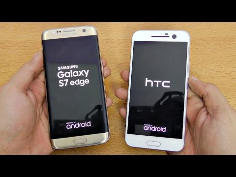 HTC 10 vs Samsung Galaxy S7 Edge - Speed Test! (4K)