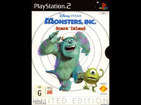 Monsters, Inc. Scare Island Soundtrack/Music - Desert Pursuit (HD)