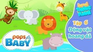 Chú Chó Thông Minh Tập 6 - Thế Giới Động Vật Hoang Dã - Kindergarten Nursery Rhymes For Babies