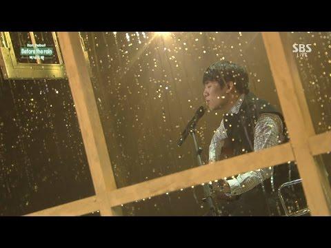 """버나드 박(Bernard Park) """"Before the Rain"""" First Stage @ SBS Inkigayo 2014.10.12"""