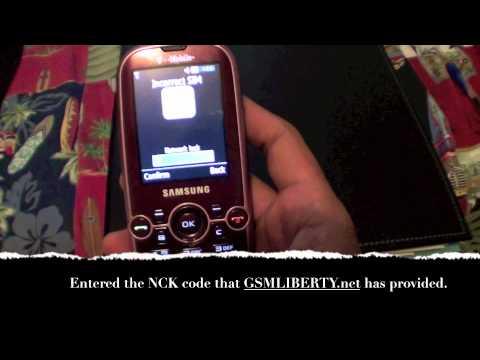 Samsung Gravity 2 T469 Unlock with GSMLIBERTY.net Service