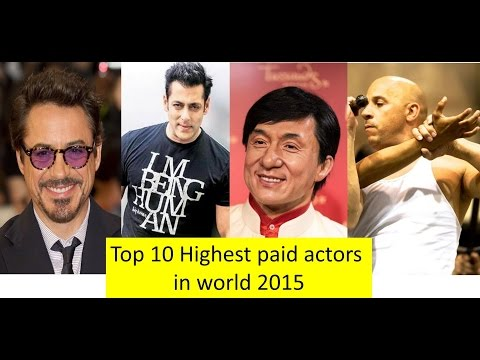 Top 10 highest paid Actors in world 2015