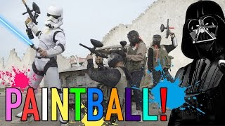 STAR WARS ROGUE ONE PAINTBALL! (Stormtrooper Edition)