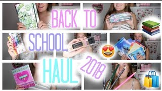BACK TO SCHOOL SUPPLIES HAUL 2018// (Faber Castelll, Tedi, Action,...) creatis live
