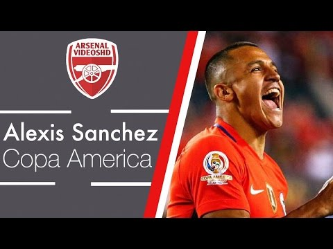 Alexis Sanchez - Copa America 2016 Review