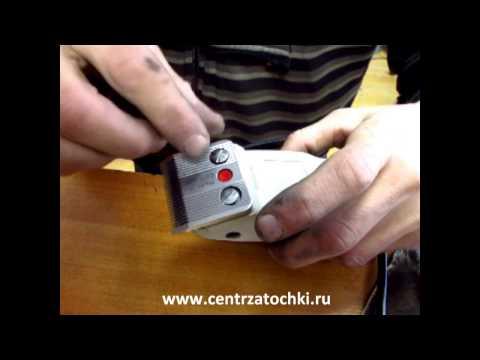 Как наточить машинку для стрижки в домашних условиях