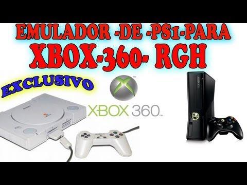 EMULADOR DE - PS1- PARA XBOX360 RGH -TUTO COMPLETO (RODA EM XBOX SEM O XELL OK )