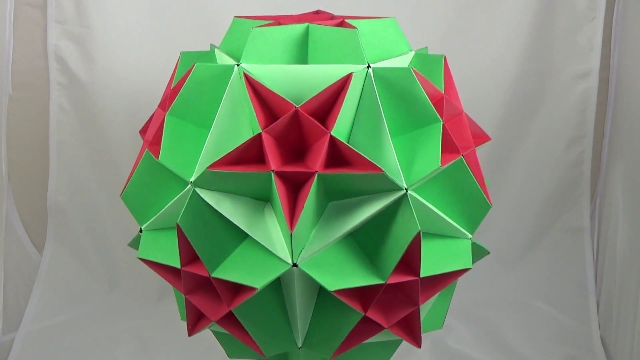 Как сделать звездчатый додекаэдр из бумаги