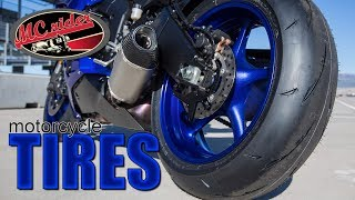 Motorcycle Tires - You asked MCrider answers.