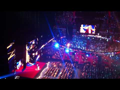 JBL inducts Ron Simmons into WWE Hall Of Fame 2012