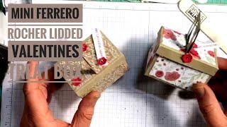 Sneak Peek Occasions Catalog 2019: Mini Ferrero Rocher Lidded Valentines Treat Box