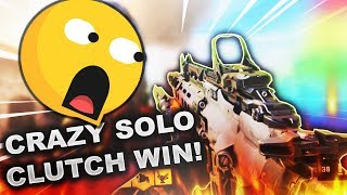 CRAZY SOLO CLUTCH WIN! Blackout! Call of duty Black Ops 4