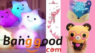 Tặng Squishy và Mở 3 gói bưu phẩm đến từ BANGGOOD / BANGGOOD.COM REVIEW