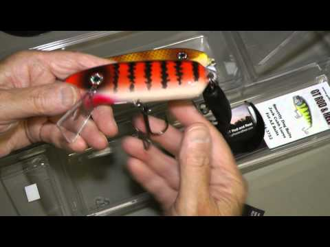 SmuttLy Dog troll crank bait with twister tail stinger hook review WillCFish Tips and Tricks.