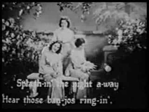Boswell Sisters: Sleepy Time Down South [1932]