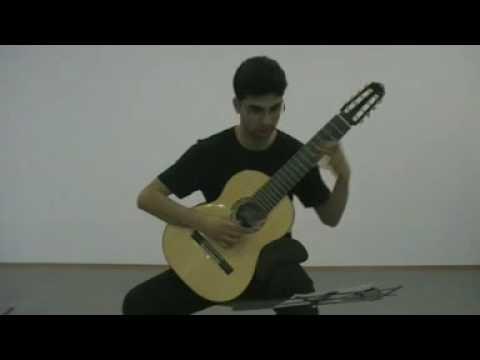 Abdülkadir Meragi - Rast Nakış Beste - Adjustable Microtonal Guitar - Arr. Behzat Cem Günenç