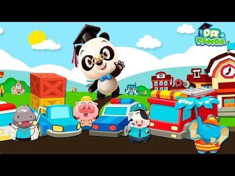 Доктор Панда и город машинок - Развивающий мультик для самых маленьких детей Dr. Panda Toy Cars