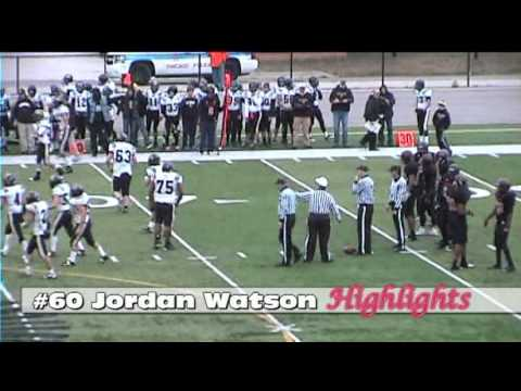 (IHSA) #60 Jordan Watson DE/DL/K (Scout Edition) Hales Franciscan High School Football (C/O 2013) - 11/19/2012