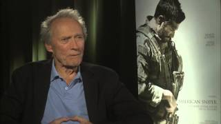American Sniper: Clint Eastwood Exclusive Interview Part 1