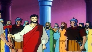 JESUS: A Kingdom Without Frontiers | Episode 22 | The Trial of Jesus | Cartoon Series | English