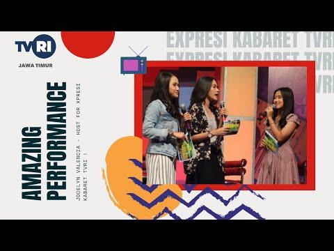 Jocelyn for Xpresi Kabaret at TVRI Jatim