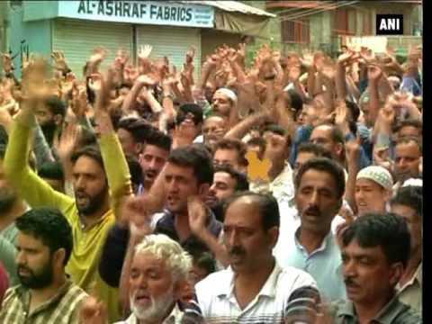Unrest in Kashmir Valley following killing of Burhan Wani - ANI News