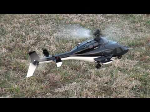 RC Esky Belt CP V2 Heli mit Airwolf Rumpf Fuselage