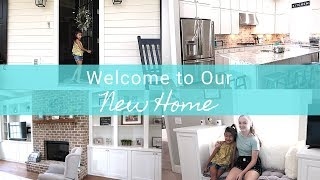 Welcome To Our New House | Furnished House Tour | Farmhouse Style Decor | Our Blessed life