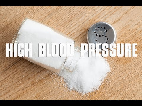 Sodium causes high blood pressure?