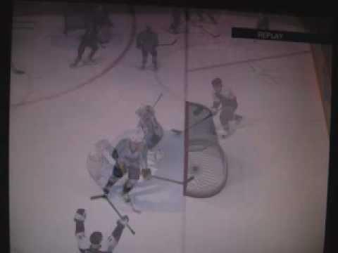 Nhl 09 - Jeff Carter (Flyers)  Goal!