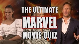 The Ultimate Marvel Movie Quiz feat. the cast of Guardians of the Galaxy