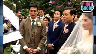 Luis Alandy Marries Joselle Fernandez In Tagaytay