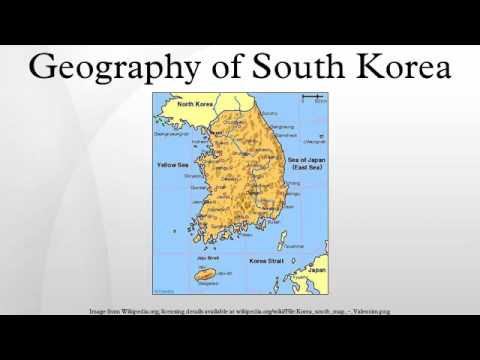 Geography of South Korea