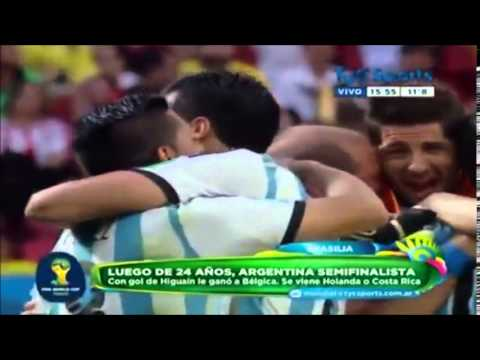 Grito del Alma Javier Mascherano -Argentina 1-0 Belgica-