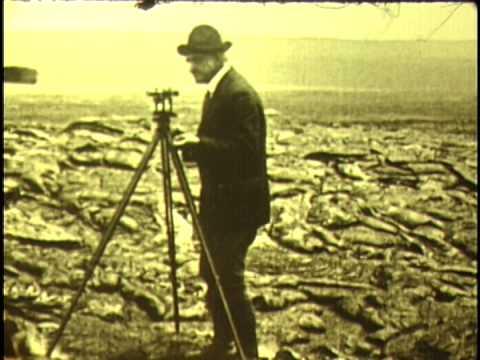 1918 Volcano Kilauea Hawaii Color Film Rare Silent Movie