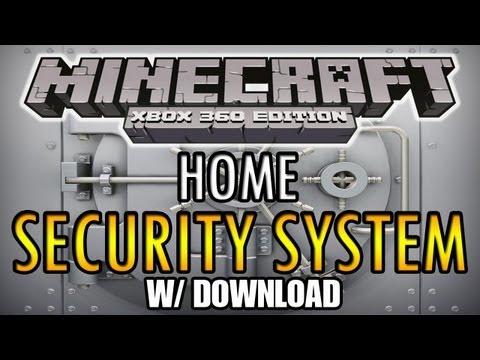 Minecraft (Xbox 360) Home Security System w/ Download!