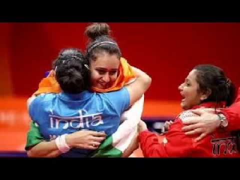 Manika Batra Leads India To Historic Women Table Tennis Gold | Commonwealth Games 2018