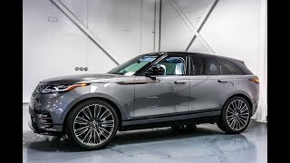 2018 Range Rover Velar First Edition (Top of the line) - Walkaround in 4K