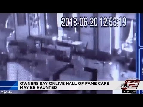 Did The Owners Of A Texas Cafe Capture Footage Of A Ghost?