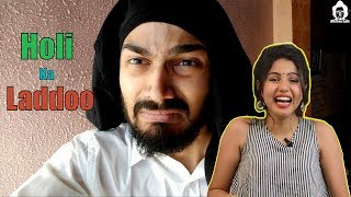 BB Ki Vines- | Holi Ka Laddoo | Reaction | Pooja Rathi | CuteBox