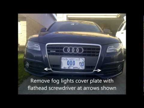 audi a4 how to change tail light bulb how to save money. Black Bedroom Furniture Sets. Home Design Ideas