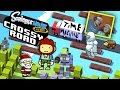 Dad & Lex play Crossy Road & Scribblenauts Remix!  THE TIME MACHINE!  (Face Cam Gameplay)